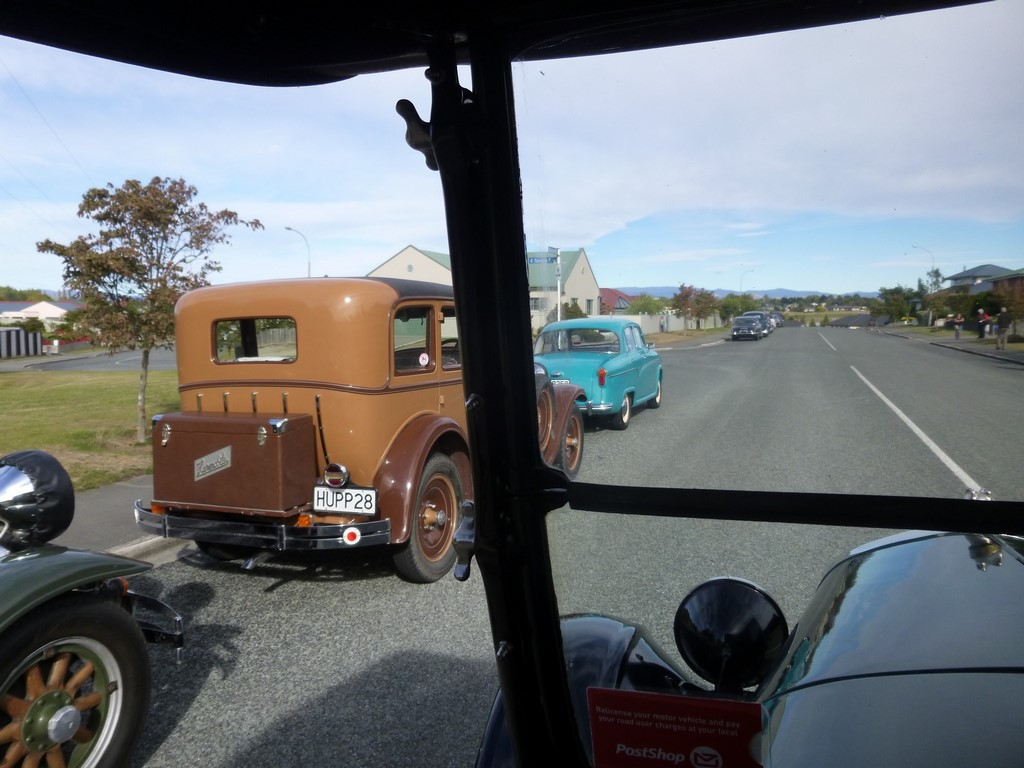 View from Ford Model T