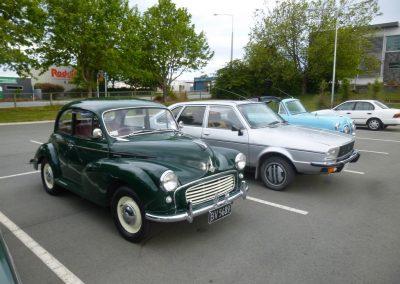 1958 Morris Minor – 1984 Renault 20