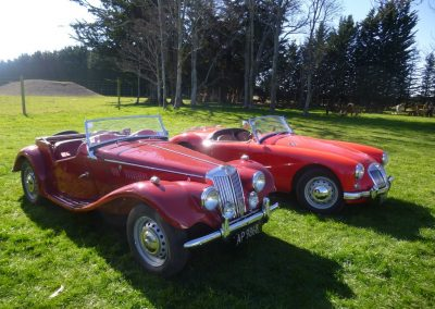 1954 MG TF – 1956 MGA