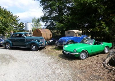 1939 Chevrolet – 1930 Chevrolet – 1976 Triumph Spitfire