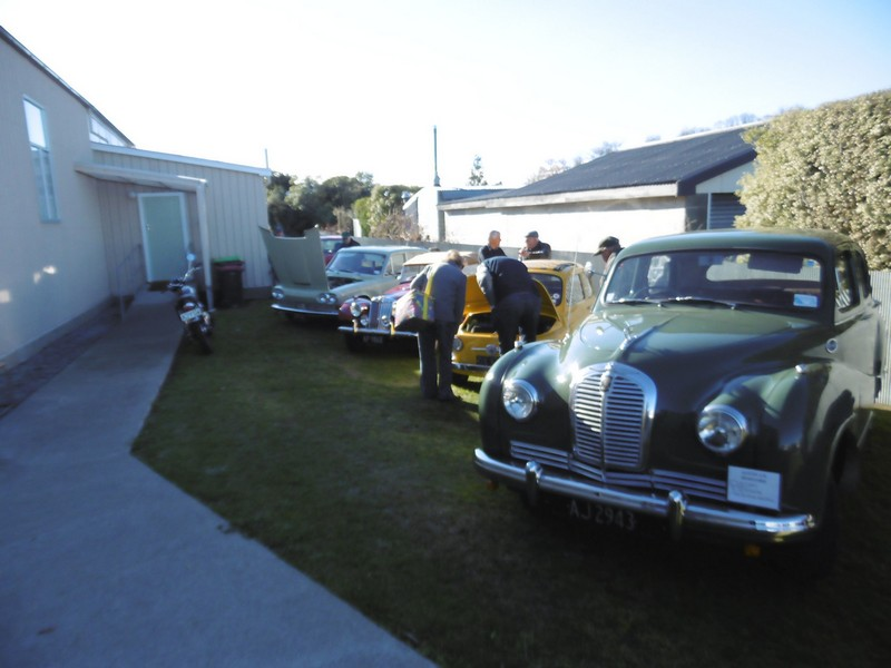 South Canterbury Vintage Car Club Restoration Rally
