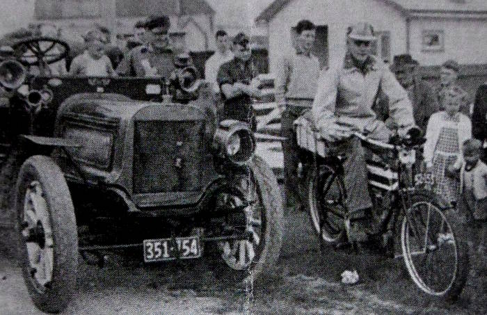The first Mount Cook Rally