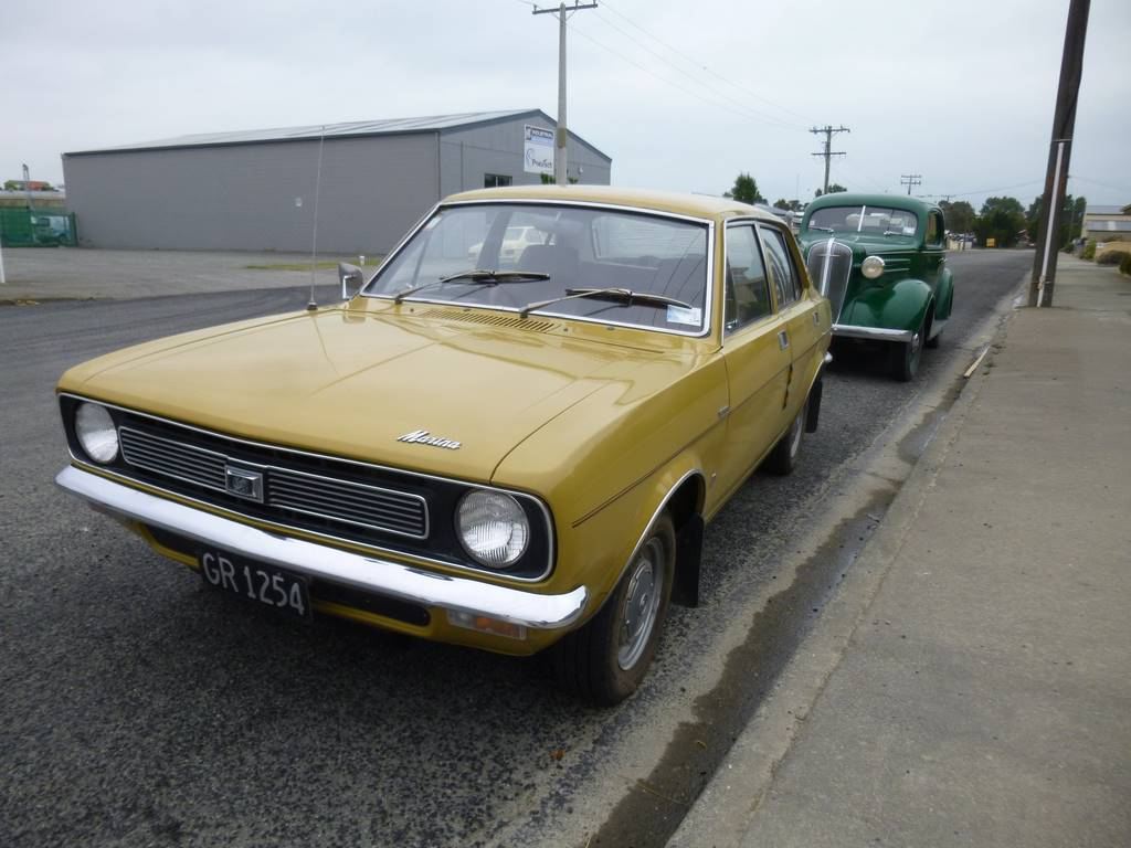 Sandy McMillan's newly acquired 1973 Australian Morris Marina