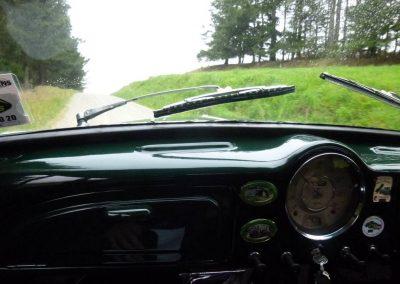 Inside a 1958 Morris Minor 1000