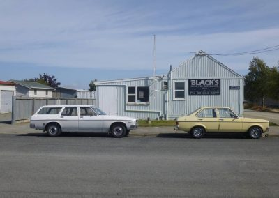 1972 Holden HQ Belmont and 1980 Ford Escort