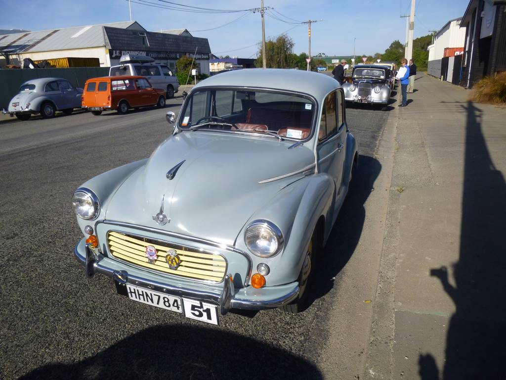 Paul Chapman's 1961 Morris Minor 1000