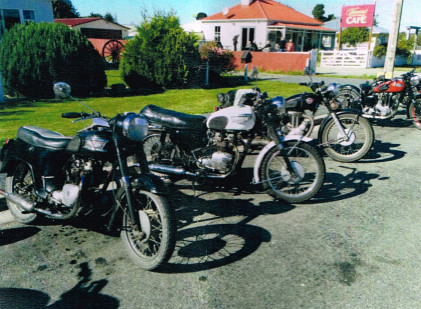 North Otago Motorcycle Rally - Lunch Stop at Hampden