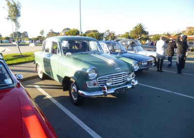 1963 Standard Vanguard, one of the last before the arrival of the Triumph 2000