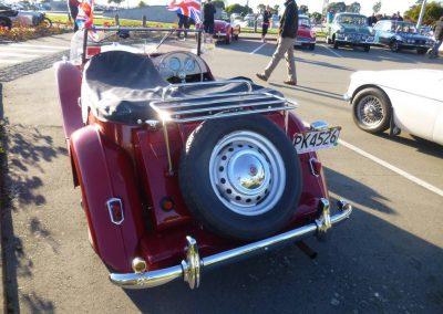 Grant Stewart's 1950 MG TD