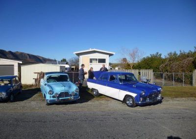 Zephyr-Zodiac club members vehicles at Albury