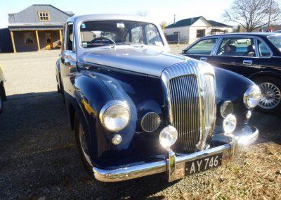 Charlie Cook's 1957 Daimler Conquest Century Mk2