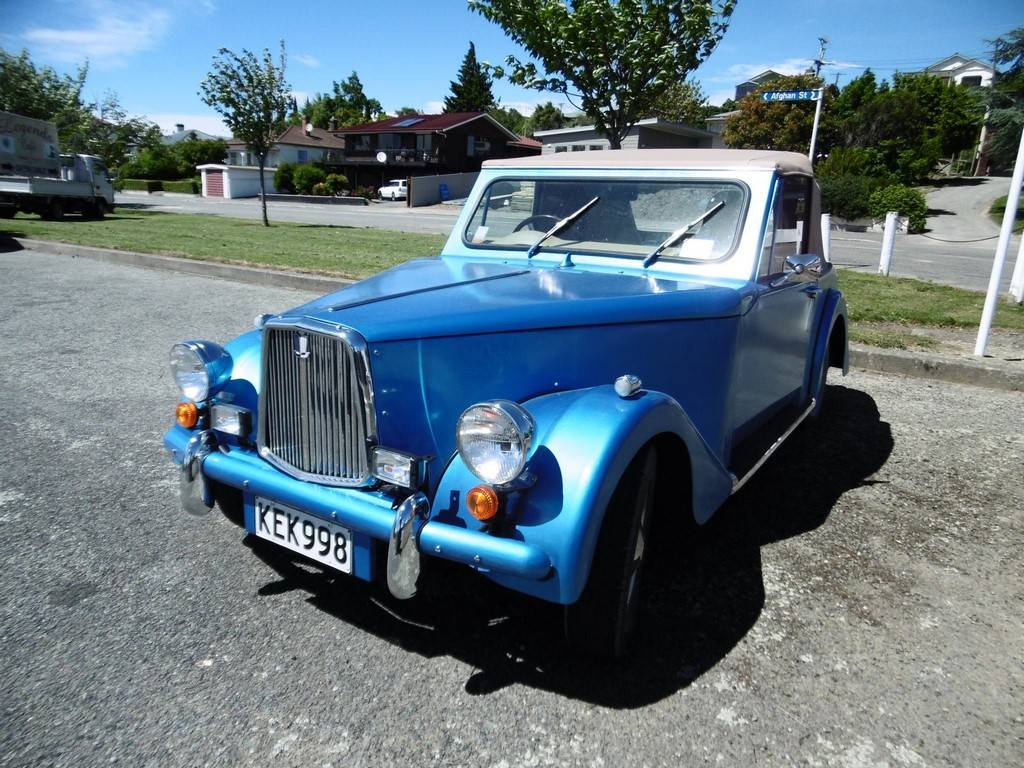 Triumph Herald based 'Special'