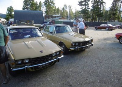 2x Rover P6 entrants at Cromwell