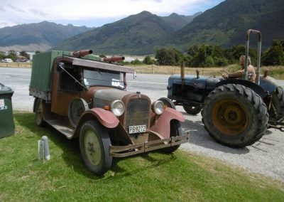 The Fox's 1924 Dodge Four at Makarora