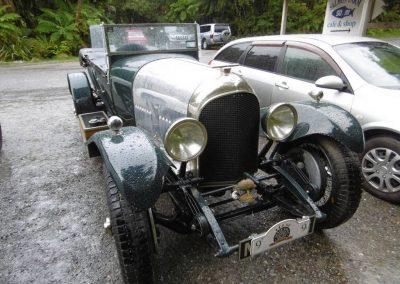 Bruce Washington's 1926 Bentley at Lake Paringa