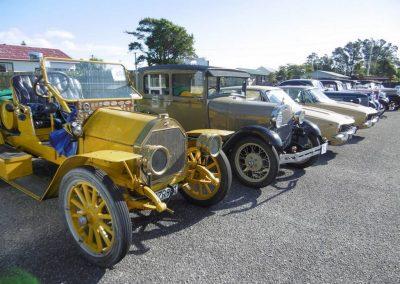 Members vehicles at Westport