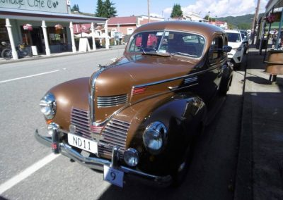 The Neill's 1939 Dodge at Reefton