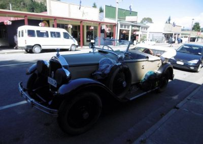 Clive Merry's 1928 Buick at Reefton