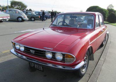 Trevor Walker's 1977 Triumph 2500