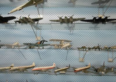 Donald Macdonald's model plane collection