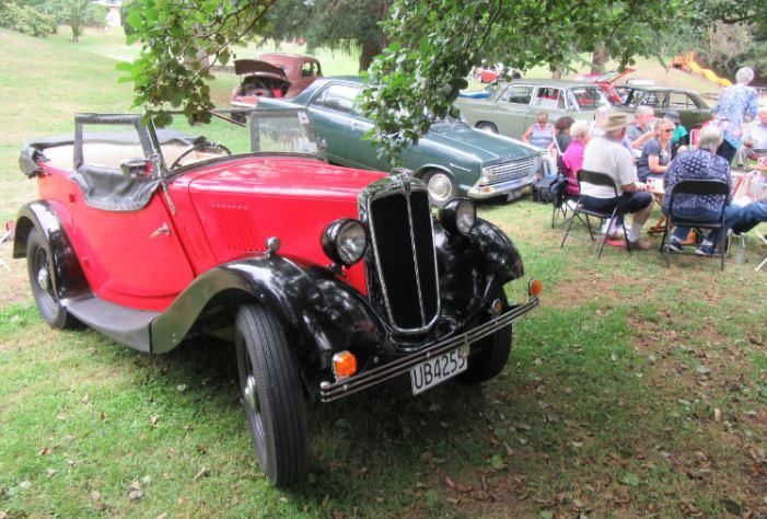 1937 Morris 8 Tourer