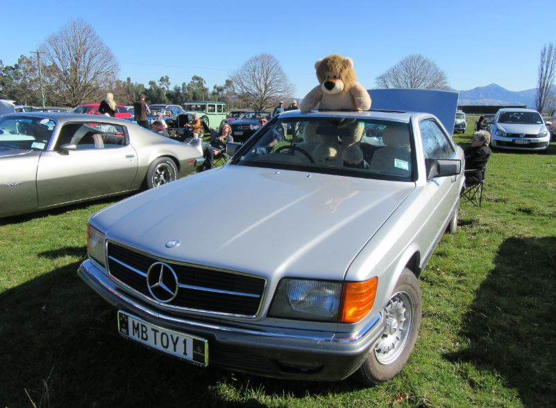 1982 Mercedes Benz 380 SEC