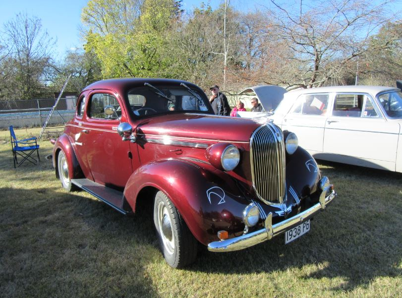 1938 Plymouth P6