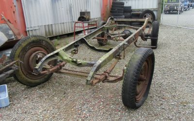 FOR SALE – Chevrolet Chassis, Buick 4-cylinder and REO engines